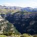 Mondoto (1.957 m) - Blick in den Cañón de Añisclo