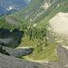 Blick zurück zur Alpja