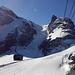 Heute sind wir auch wieder unterwegs zum Matterhorn - zum Klein Matterhorn ;-)