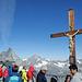 Auf der Aussichtsplattform des Klein Matterhornes.