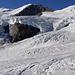 Blick über den Glacier de Véraz zum Breithorn.