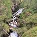 Rapide e cascate del Rio Sangiatto.