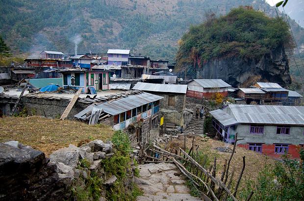 Odar, schon im Annapurna Circuit gelegen.