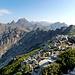 Blick vom Gipfel ins Inselinnere zur Paglia Orba