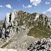 Im Aufstieg zur Zelena glava - Blick zum benachbarten Otiš.