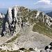 Im Aufstieg zur Zelena glava - Blick zum nordöstlich gelegenen Otiš, den wir später auch noch besteigen.