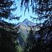 Der von Licht  und Schatten scharf getrennte Lasörling Nordgrat (zusammen mit Marion im August 1988 erstiegen, II)