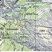 Karte, zweiter Teil; Erlebnisweg = Mittli Flüe und Hohlerch