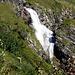 diesmal bin ich etwas näher beim Wasserfall