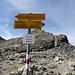 Der höchste Punkt unsere heutige Tour, Fuorcla Muragl. Ab jetzt geht es nur herunter.
