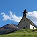 Kapelle in Bichl, dahinter der Bergerkogel