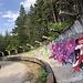 Trebević - Unterwegs an der Olympischen Bob- und Rodelbahn. Nochmals vorbei an Vučko.