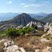 Blick am Kamm Richtung Capu di a Conca