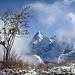 Nerviger Nebel über dem Lauterbrunnental
