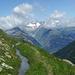 Wunderschöner Panoramaweg mit Blick ins Gredetschtal