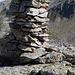 Gipfelsteinmann der Cima Mattaroni