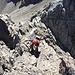 Michi hat den letzten Aufschwung hinter sich, in leichtem Gelände geht's die finalen paar Meter zum Gipfel