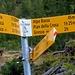 A sinistra Bocchetta di Doia, Lago e Capanna Alzasca, a destra Pian della Crosa / Alpe Bietri