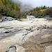 Traversée de la Lengtalwasser sur des dalles bien lisses et humides.