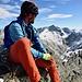 Damian auf dem Gipfel