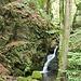Im Rambachtal, ein Miniwasserfall