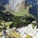 Firzstock, Blick in die Aufstiegsmulde