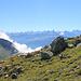 Blick in die Walliser Alpen
