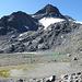 In der Nähe von Punkt 2760m, Chüelaphorn, Gletscher und Bergseen.