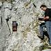 Diesmal kein kein Gipfelbuch, sondern ein Wanderwegbuch! Es befindet sich bei der Felsstufe oberhalb vom Worbi.