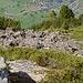 Eigenartige geschichtete Steine auf dem Fisischafberg.