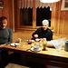 Frühstück auf der Turtmannhütte (wecken 04:00 Uhr)