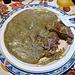 Il piatto principale: Polenta Taragna e salsiccia, poi ci sarà il bis di taragna e funghi raccolti