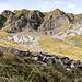 Interessante Schichtungen im Fels des Glattigrats.