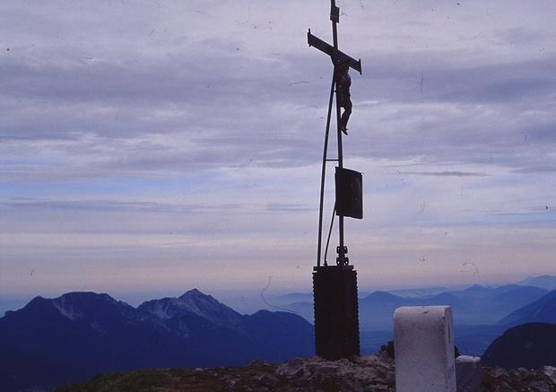 Gipfel des Sonntagshorn