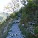 auf dem Weg nach La Baume Auriol über den Bergrücken