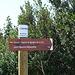 die neuen Wegweiser für den neuen Weg nach Ste-Maurice-Navacelles