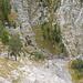 Blick zu den Wasserfällen der Kuhflucht