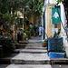 Tag 2 (18.10.2019):<br /><br />Der schöne Eingang zum Hostel zehn Minuten östlich vom zentralen Märtyrerplatz in بيروت (Bayrūt).