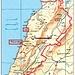 Meine besuchten Orte im Libanon habe ich rot markiert. Ich hoffe, dasss ich nächstes Mal mehr vom Land sehen werde und auch dem höchsten Berg besteigen kann!