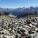 Links vorne ist das Plateau auf 2900m gut sichtbar.