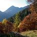 Una bella apertura panoramica verso il Colle Dorchetta.