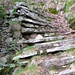 Treppe am Aufstieg nach Sciresa, Val dAmbra