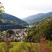 Klausen mit Brennerautobahn