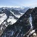 Großer Piz Buin (Piz Buin Grond) - Ausblick am Gipfel in etwa östliche Richtung.