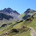 Blick von der Pizolhütte zur Wildseeluggen
