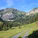 In der Nähe der Alpe Vorsiez