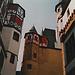 Wundervolle Architektur im Innern der Burg Eltz