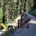 Sanierung der abgerutschten Strasse ins Peilertal durch die mir bestens bekannte Fa. Gall Forst aus Berschis