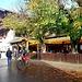 Oberstdorf - même à la Toussaint les Biergarten ne désemplissent pas !