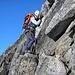Am Gipfelturm des Witenwasserenstock 3082m